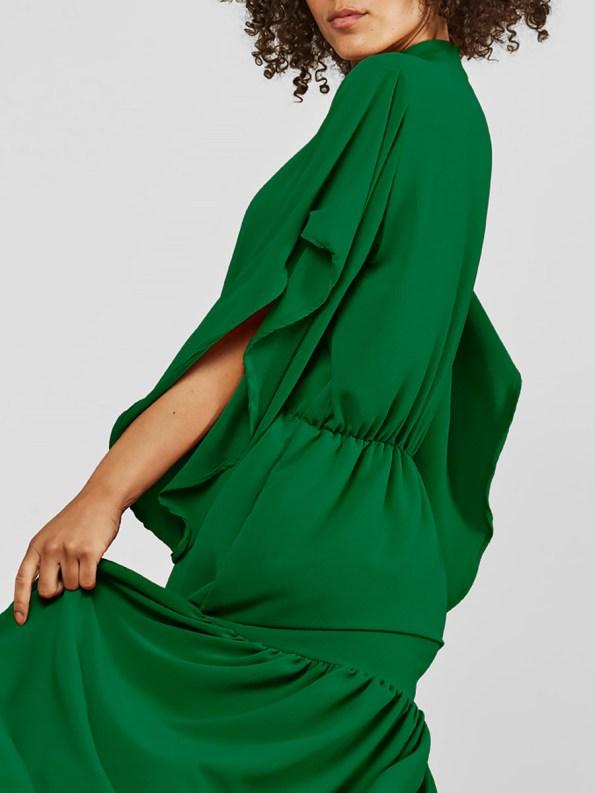 Mareth Colleen Tristan Dress Green Crop Side