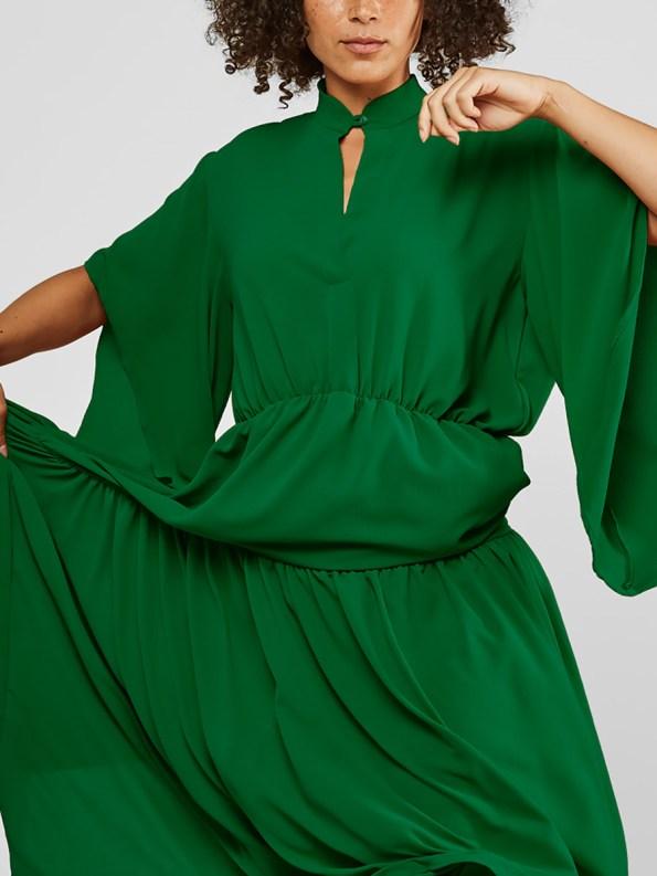 Mareth Colleen Tristan Dress Green Crop