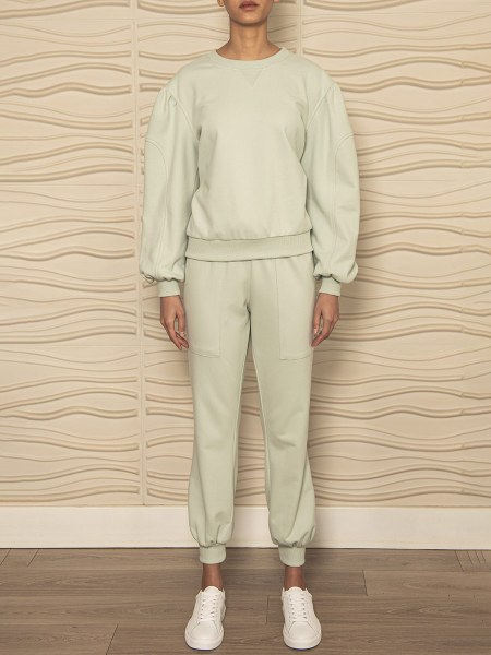 Organic cotton mint green tracksuit South Africa