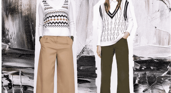 Sweater vests are a thing  – here's how to style the trend