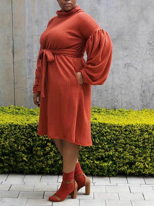 Erre Doyenne Dress Amber 3