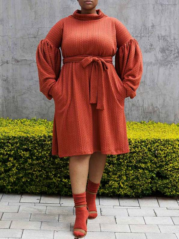 Erre Doyenne Dress Amber 4