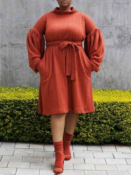 orange knit dress South Africa