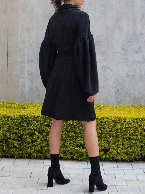 Erre Doyenne Dress Black 2