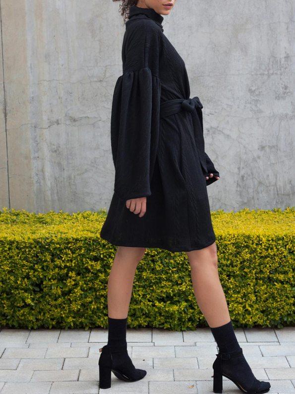 Erre Doyenne Dress Black 3