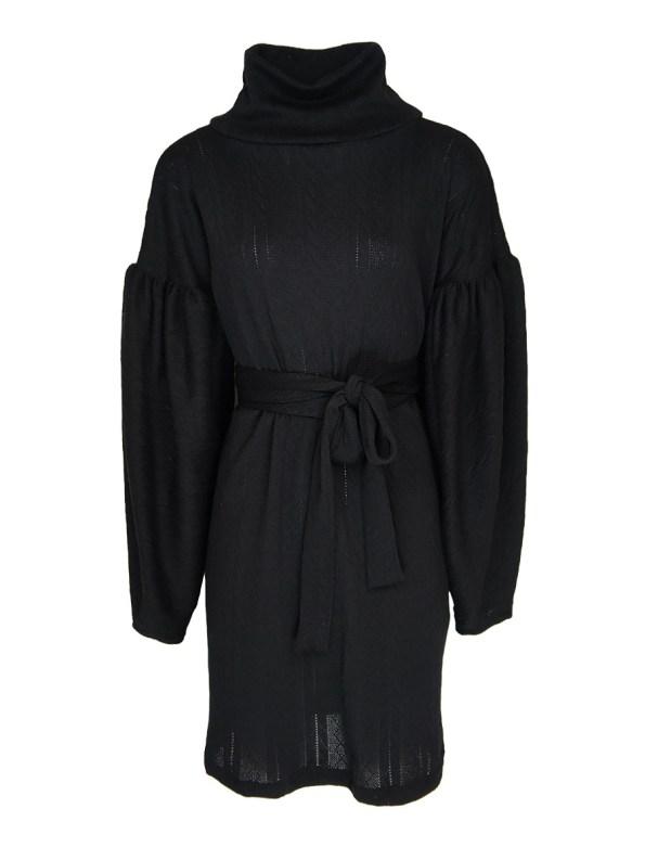 Erre Doyenne Dress Black