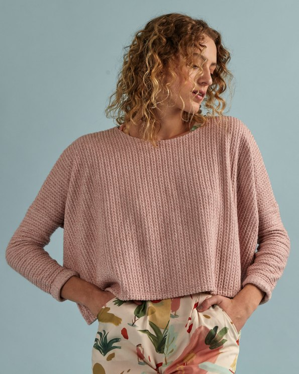pink cropped sweater South Africa