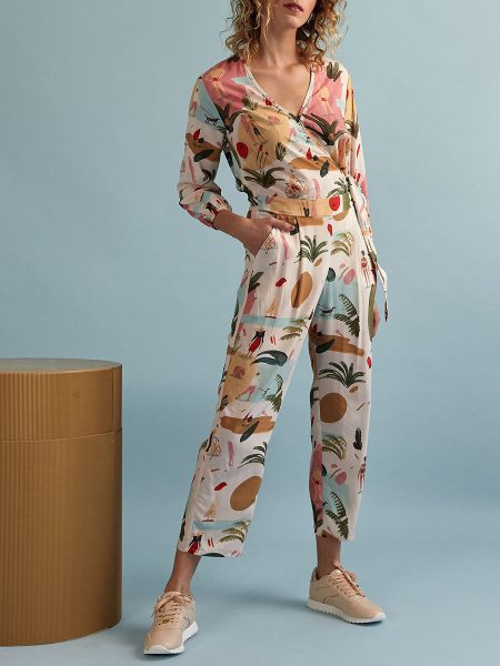Kirsten Sims printed jumpsuit for ladies South Africa