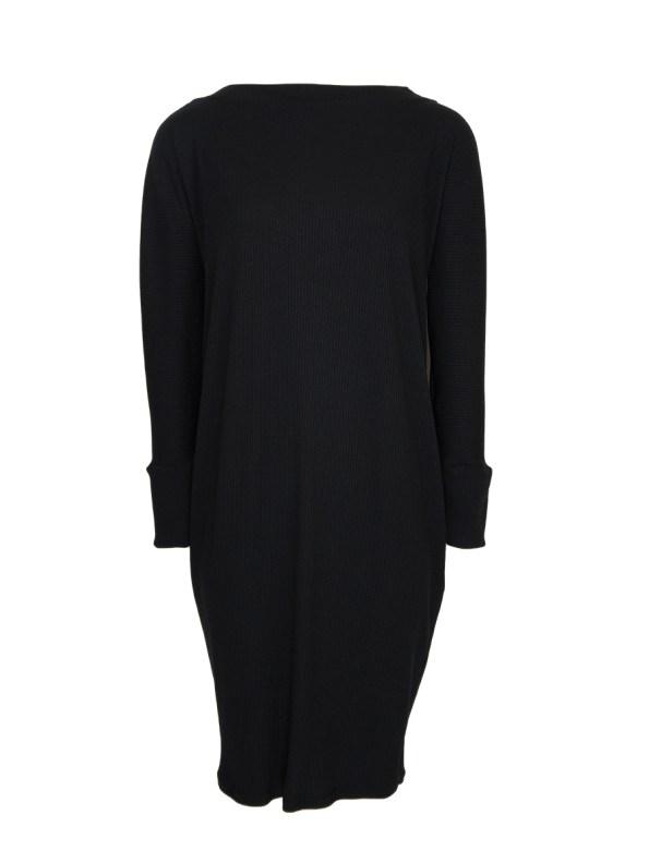 IDV Cocoon Knit Dress Black (no belt)