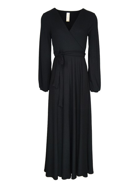 knit fabric black maxi dress South Africa
