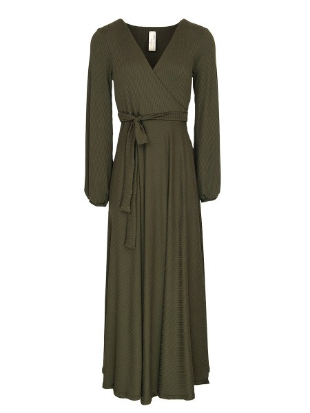 Olive green wrap dress South Africa