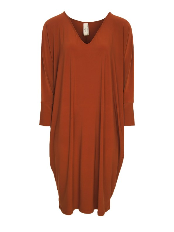 rust brown Cocoon Dress South Africa