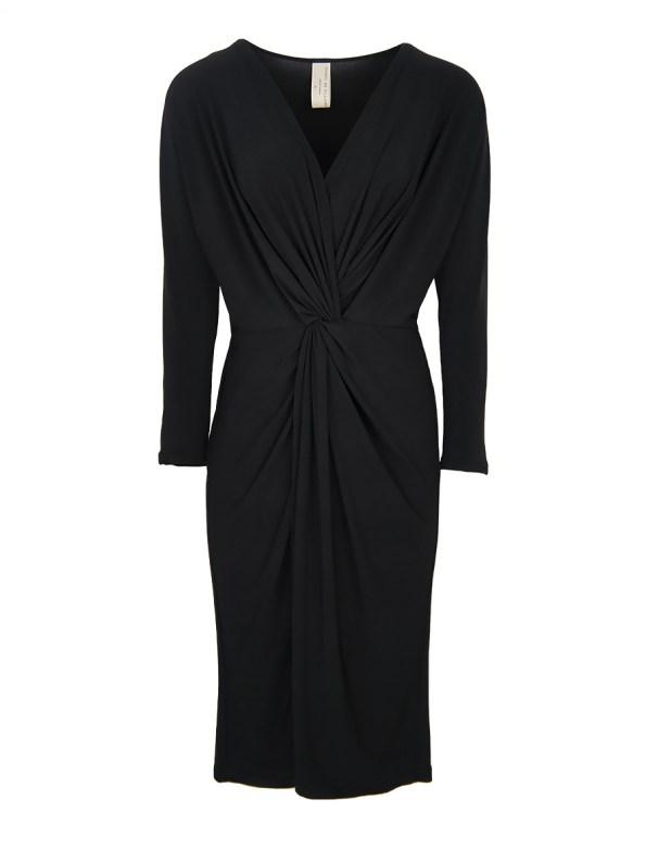 IDV Winter Twist Dress Black