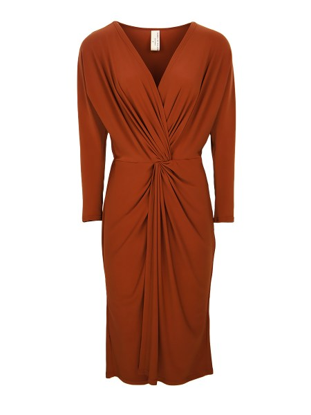 orange brown midi dress plus size South Africa
