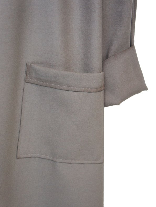 JMVB Signature Coat Mink Pocket