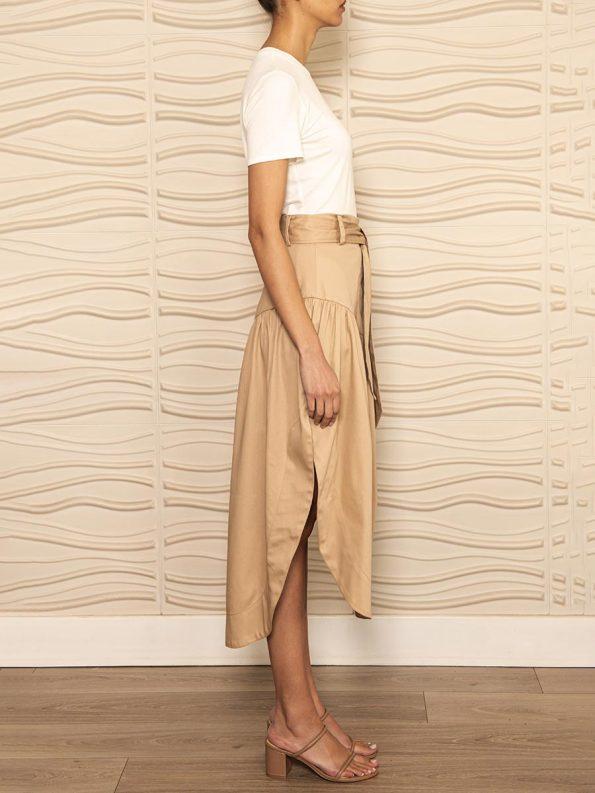 Smudj Philomena Petal Skirt Side