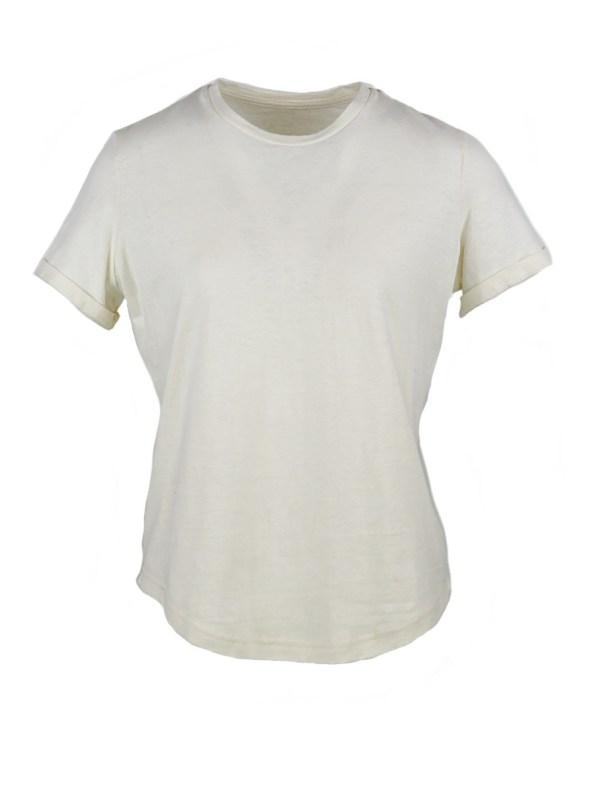 Asha Eleven Hemp T-shirt White