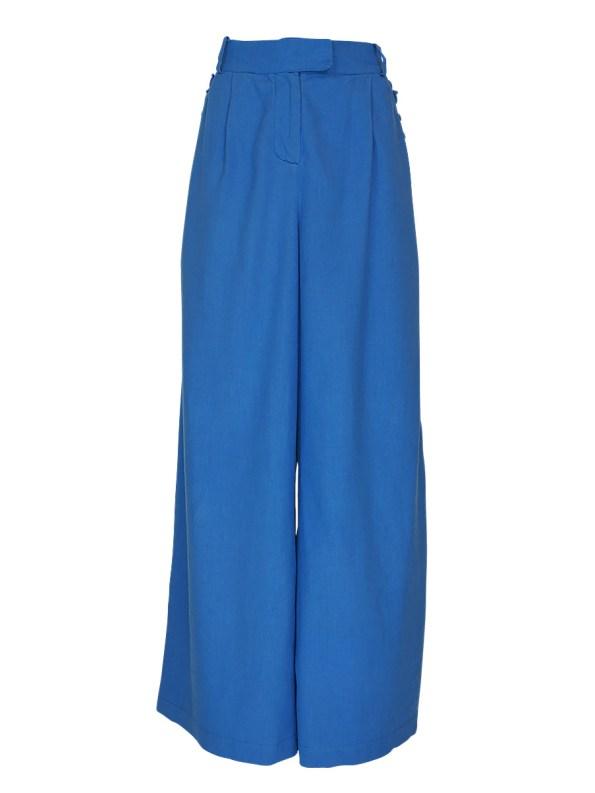 Asha Eleven High and Wide Pants Cornflower Blue _SHPEN100