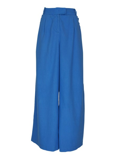 blue high and wide leg pants for women South Africa