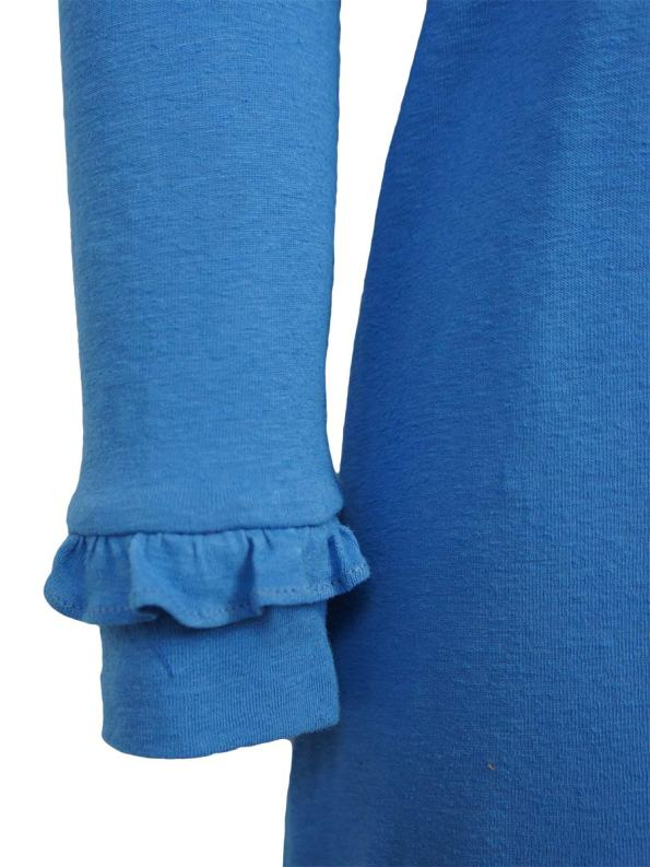 Asha Eleven Marefu Dress Cornflower Blue Detail