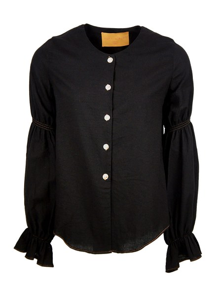 hemp black ladies blouse South Africa