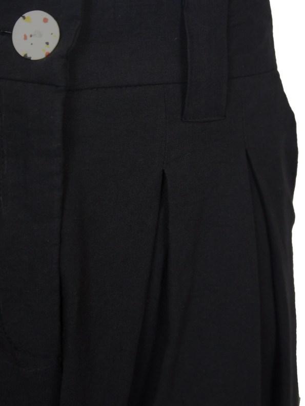Asha Eleven Tembea Trousers Black Detail
