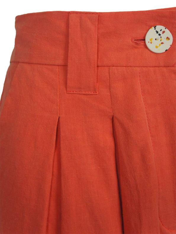 Asha Eleven Tembea Trousers Coral Detail