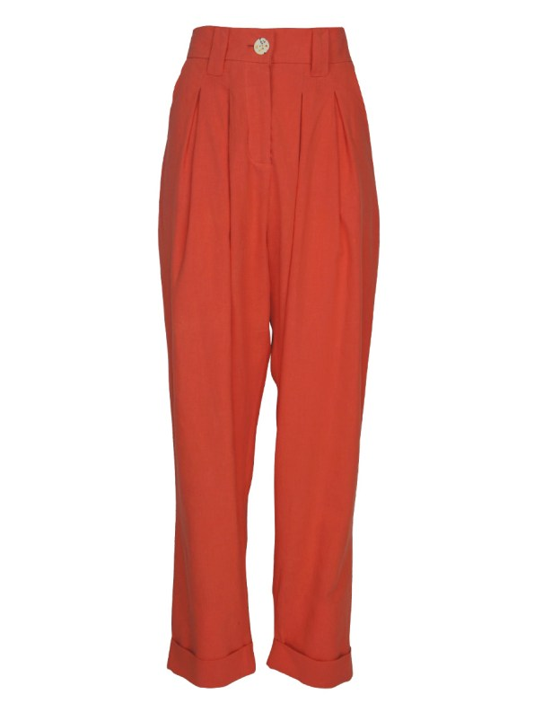 Asha Eleven Tembea Trousers Coral