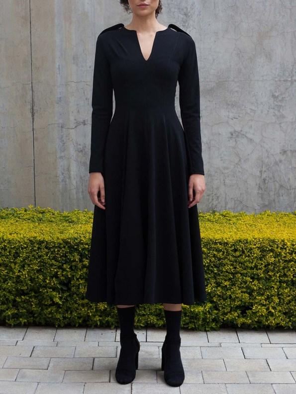Erre Commander Dress Black 4