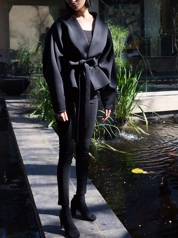 Erre Neoprene Jacket Black 1