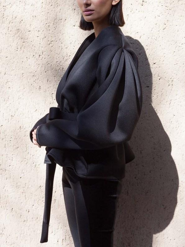 Erre Neoprene Jacket Black 4