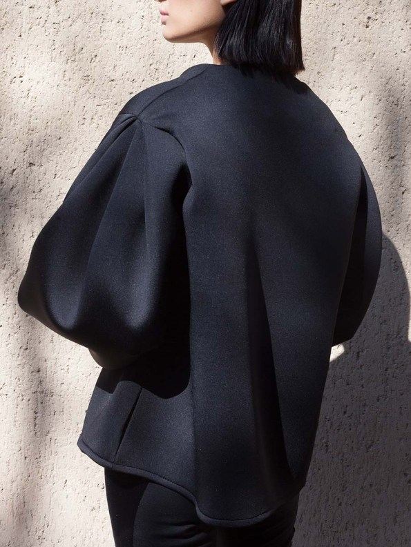 Erre Neoprene Jacket Black 5