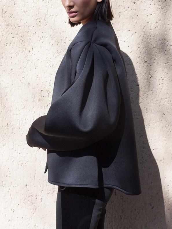 Erre Neoprene Jacket Black 6