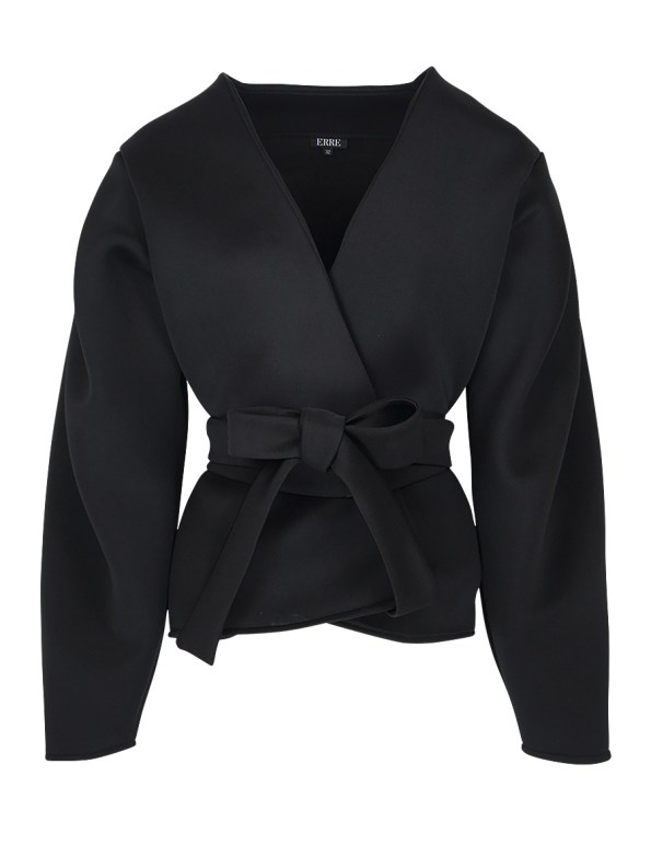 Erre Neoprene Jacket Black