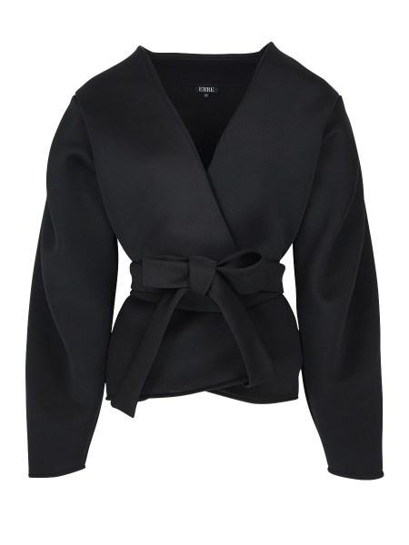 black neoprene jacket