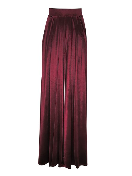 Burgundy velvet top and pants womens South Africa