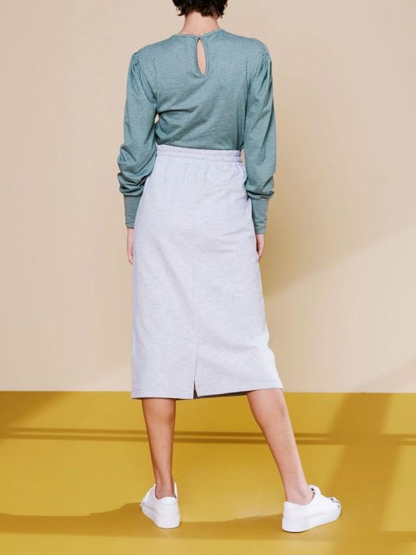 Good Lounge Skirt Grey 4
