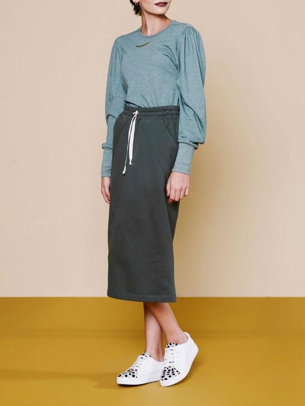 Good Lounge Skirt Olive 5