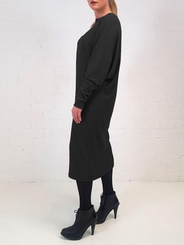 JMVB Sweater Dress Black Side