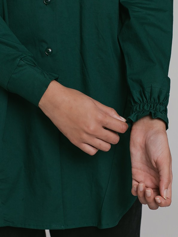 Mareth Colleen Ashley Shirt Green 3
