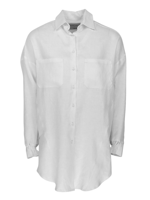 Mareth Colleen Ashley Shirt White