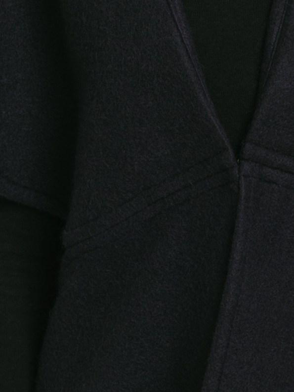 Mareth Colleen Jei Coat Navy Fabric