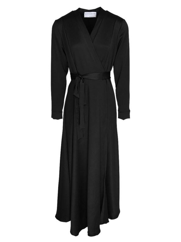 Mareth Colleen Jo Wrap Dress Black