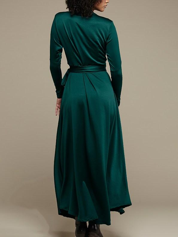 Mareth Colleen Jo Wrap Dress Green 3
