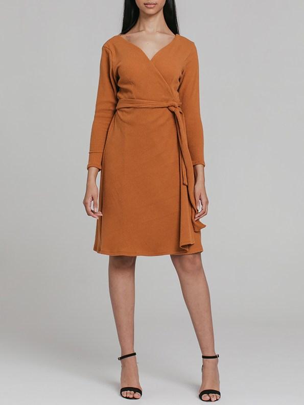 Mareth Colleen Suki Wrap Dress 4