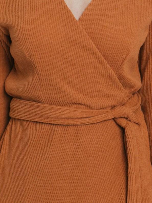 Mareth Colleen Suki Wrap Dress Detail