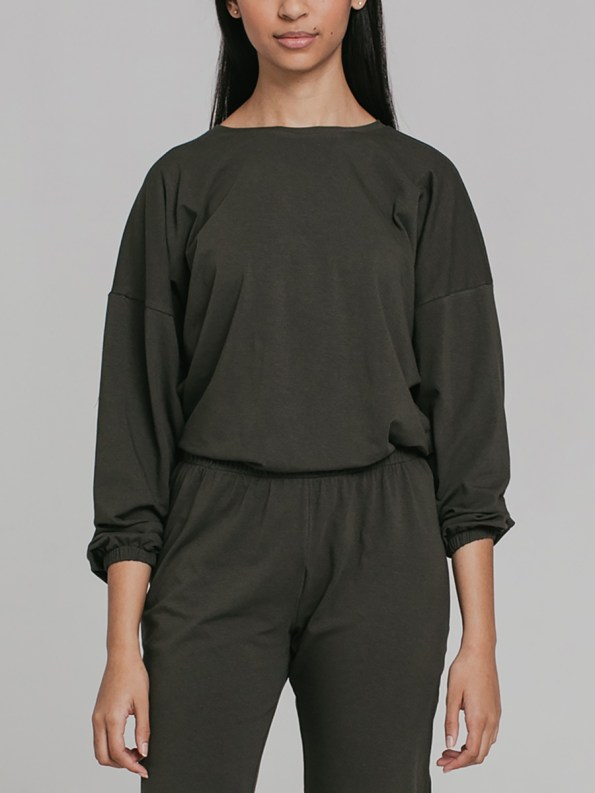 Mareth Colleen Sweater Outfit Olive 2