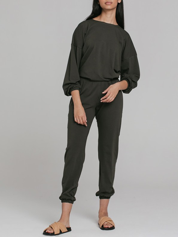 Mareth Colleen Sweater Outfit Olive 4