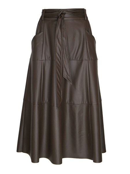 brown faux leather skirt South Africa