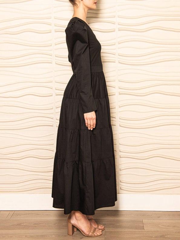 Smudj Flynn Dress Black 3